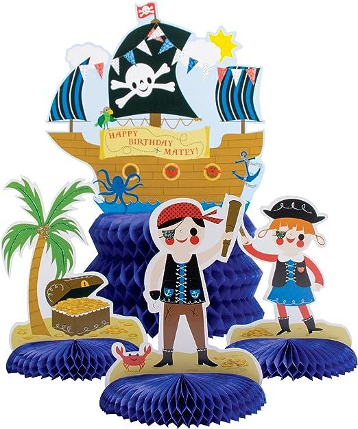 Party Partners 4 piezas Juego de mesa, Partido Pirata: Amazon.es: Hogar