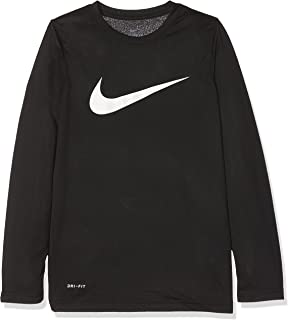 860d1a8a8091 Amazon.com  Nike Boys Cool Hbr Fitted Long Sleeve (Little Big Kids ...
