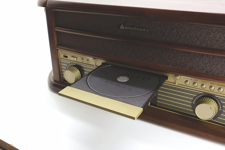 Soundmaster NR513A - Tocadiscos: Amazon.es: Electrónica