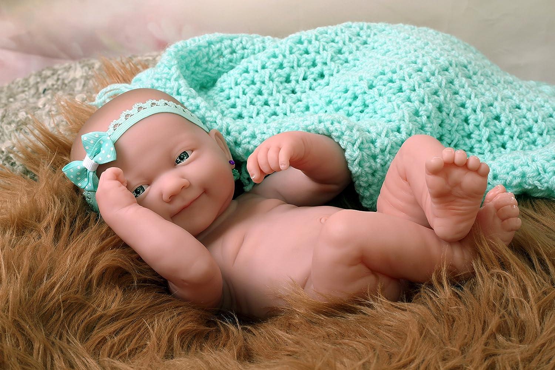 Amazon.com: My Lindo Baby Girl Muñeca sonriente Preemie ...