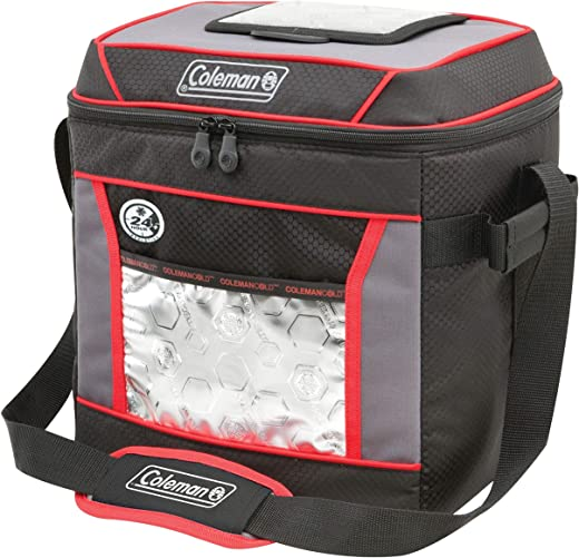 Coleman Soft Cooler Bag   Keeps Ice Up to 24 Hours