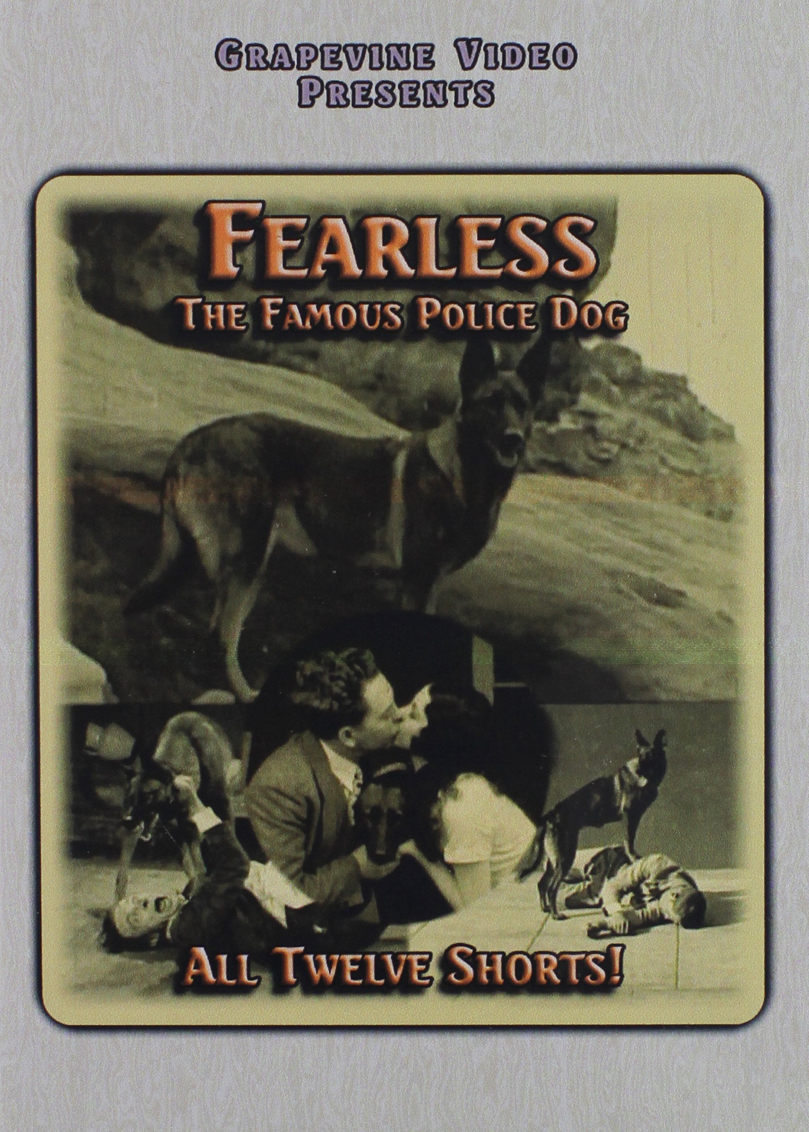 DVD : Fearless The Police Dog (1926-1927) (Silent Movie)