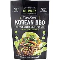 Urban Accents Korean BBQ Plant Based Meatless Mix – Gluten Free Plant Based Protein & Korean Seasoning Blend, 3-pack