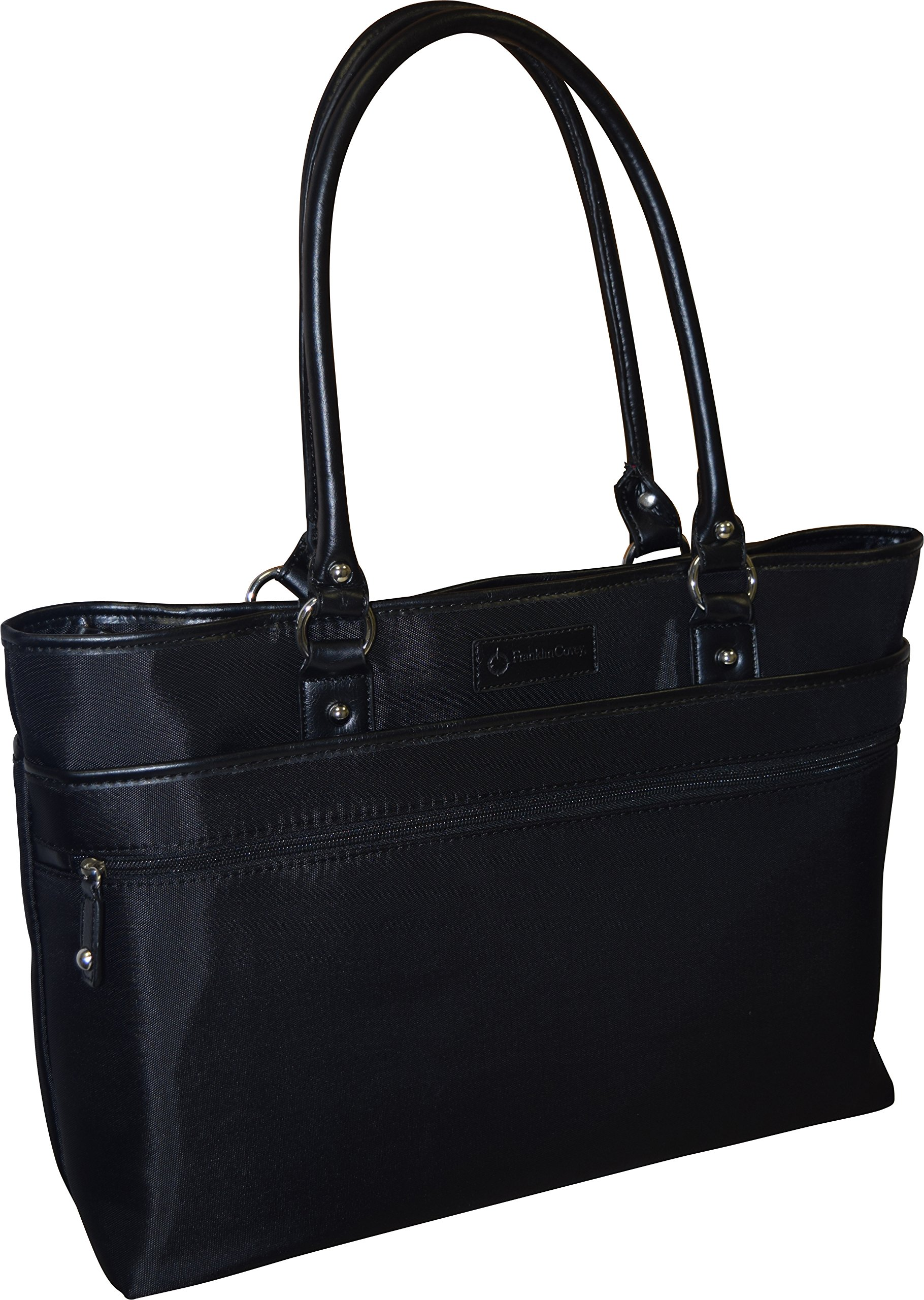 Franklin Covey Women's Business Laptop Tote Bag - Black
