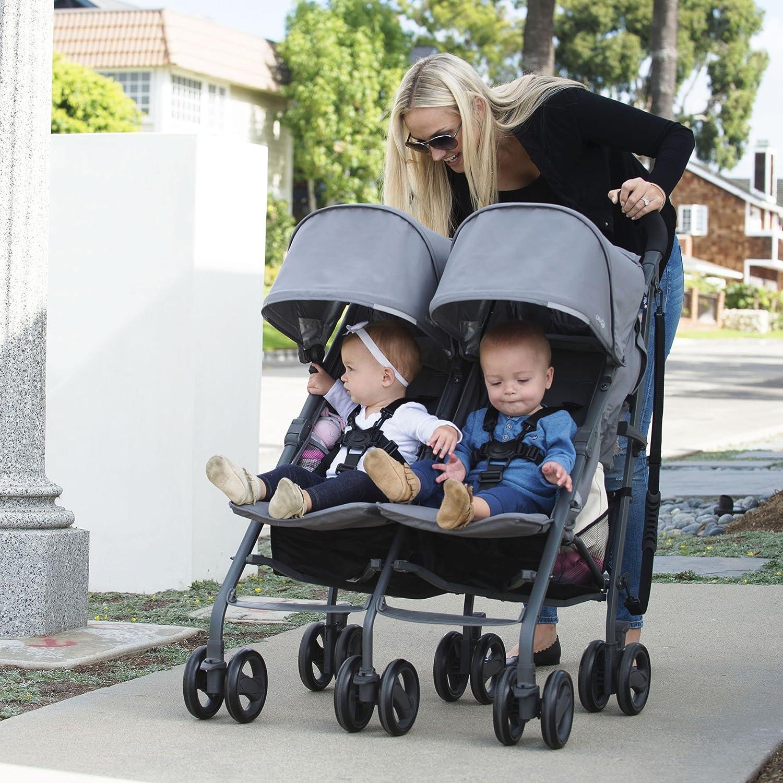 Amazon JOOVY Twin Groove Ultralight Umbrella Stroller Black Baby