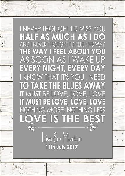 Must be love love love lyrics