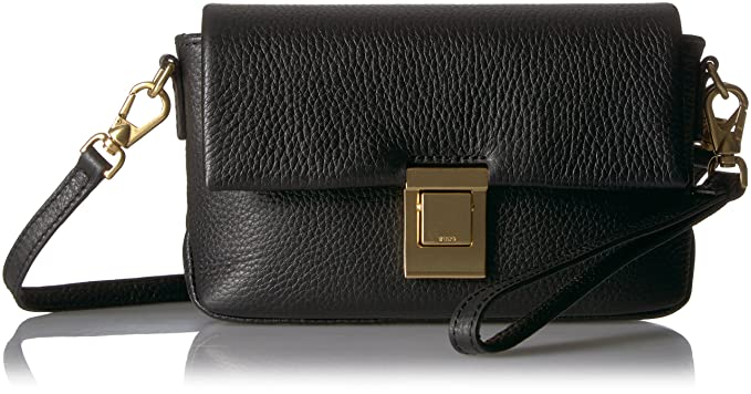 5644d756c33a ECCO Women's Isan 2 Mini Crossbody, black: Handbags: Amazon.com