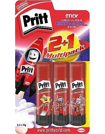 Pritt Pack de Barras de pegamento infantil, de uso rápido y fácil, sin disolventes