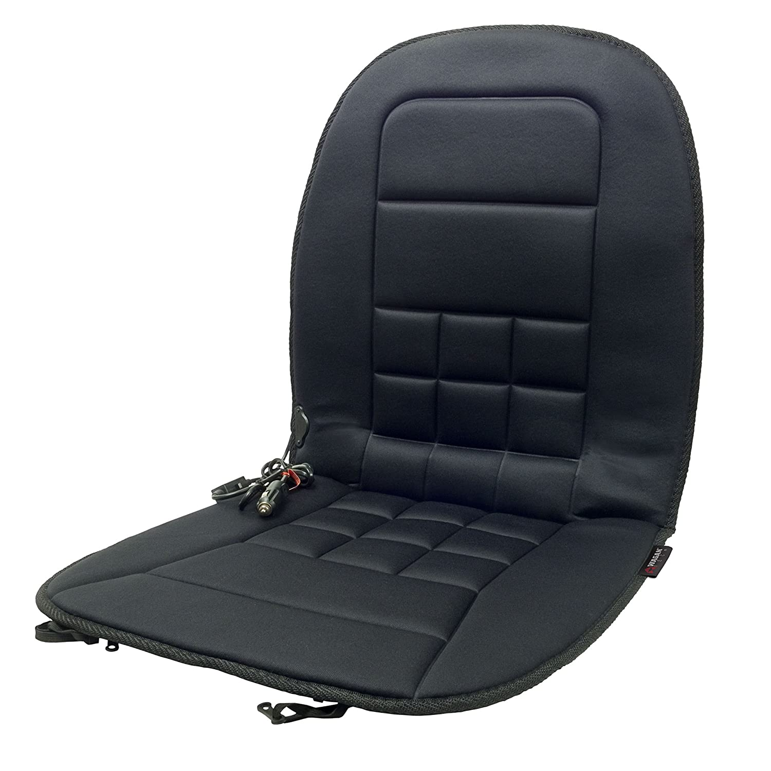 HealthMate IN9738 12V Heated Seat Cushion by Wagan