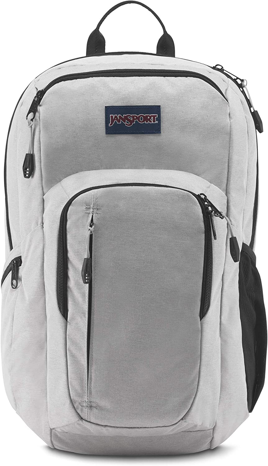 JanSport JS00T69G3F6 Recruit Laptop Backpack, Grey Heathered Poly