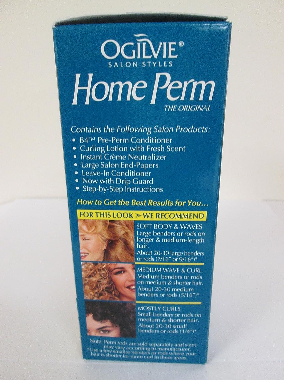 Amazon Com Ogilvie Home Perm Extra Body 1 Application Beauty