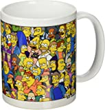 The Simpsons Characters Ceramic Mug
