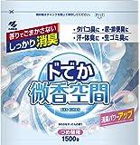 ドでか微香空間 消臭芳香剤 詰め替え用 ほのかなせっけんの香り 1500g