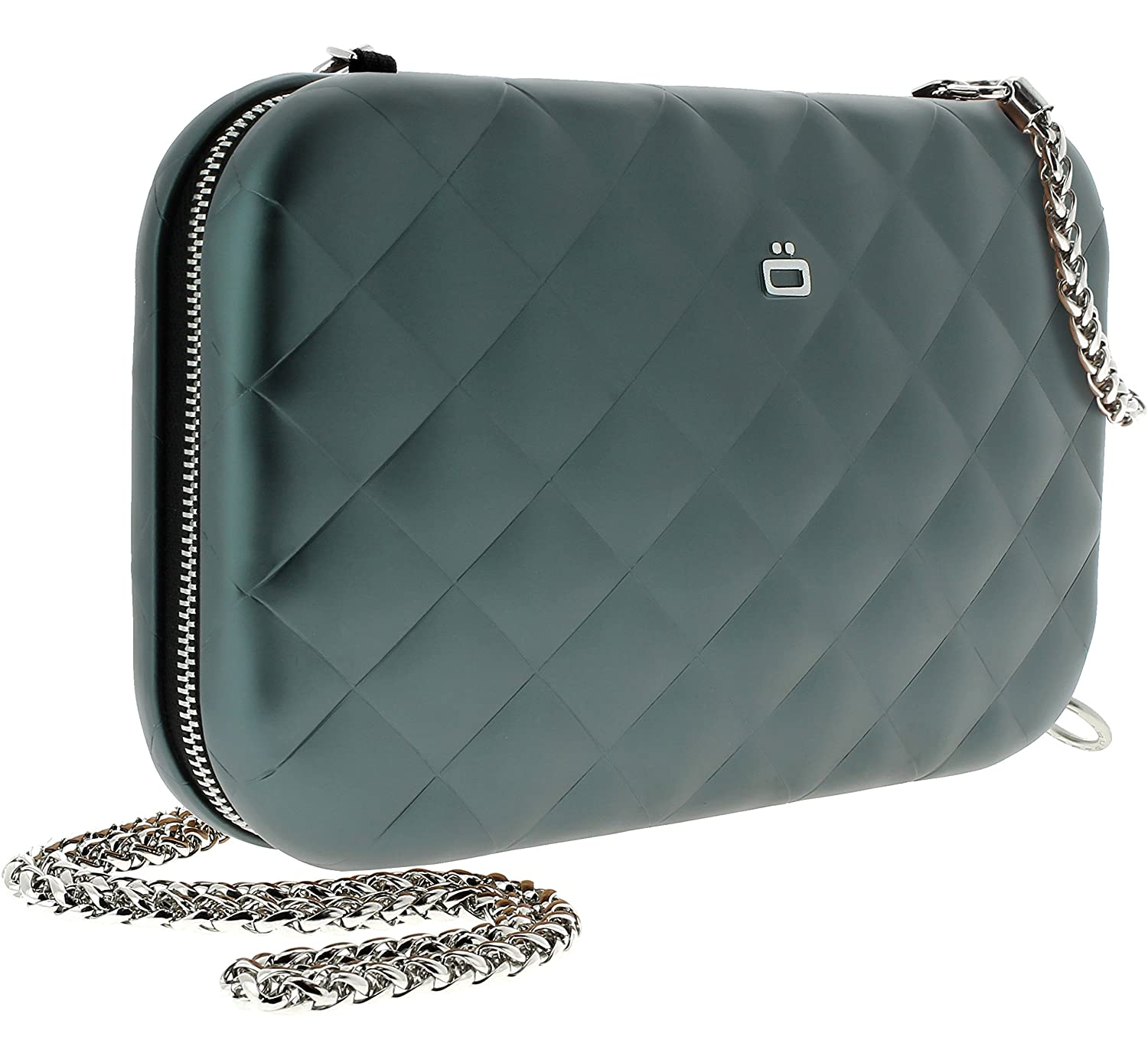 Ogon Quilted Lady Bag Aluminum RFID Blocking Clutch