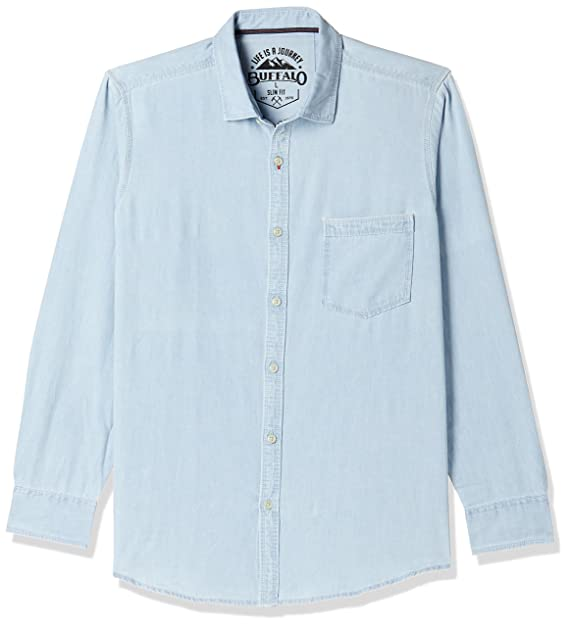 Buy Buffalo Men's Casual Shirt at Amazon.in