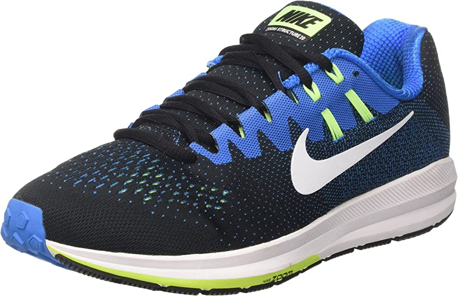 7a30ad730cfe6 NIKE Men s Air Zoom Structure 20 Running Shoes