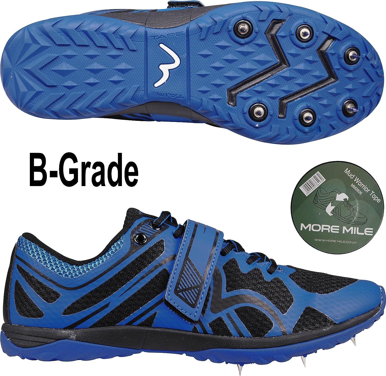 More Mile Pinchos para correr en cruz (con cinta), color azul ...