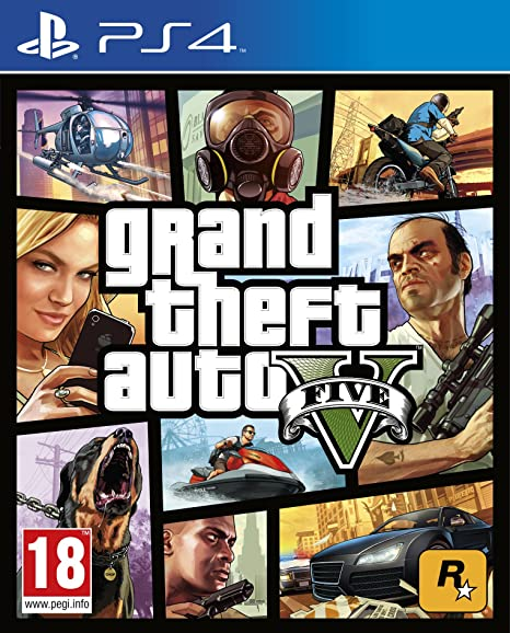 Grand Theft Auto V (PS4): Amazon co uk: PC & Video Games
