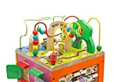 Pidoko Kids Wooden Bead Maze Cube - Activity