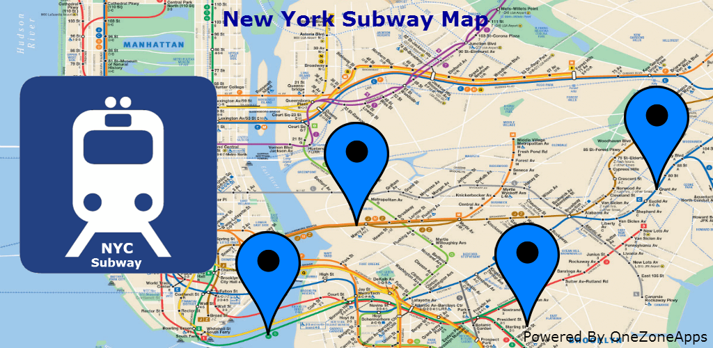 New York Subway Map (NYC): Amazon.ca: Appstore for Android