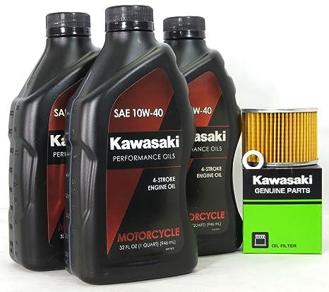 Amazon.com: 1987 Kawasaki ZL1000-A1 (ZL1000 Eliminator) Oil Change ...