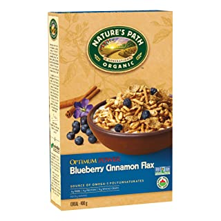 Nature's Path, Organic OPTIMUM Breakfast Cereal - Flax, Soy, Blueberry Cinnamon, 14 oz