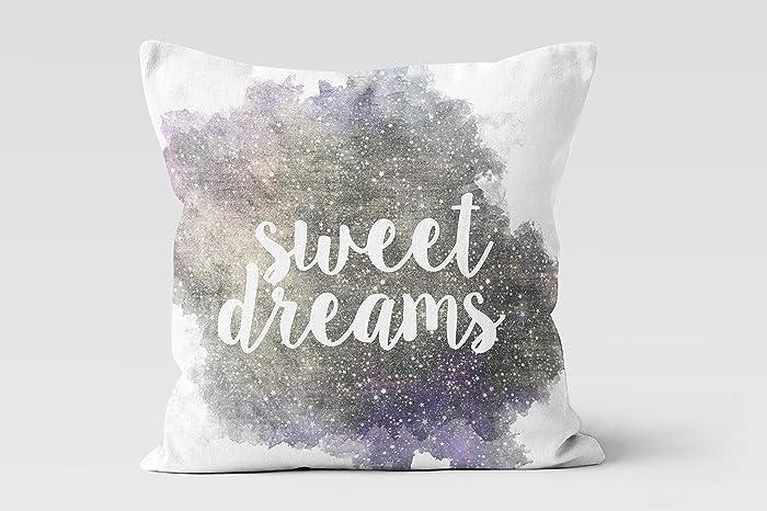 Amazon Sweet Dreams Galaxy Throw Pillow Decorative Pillow Custom Sweet Dreams Decorative Pillows