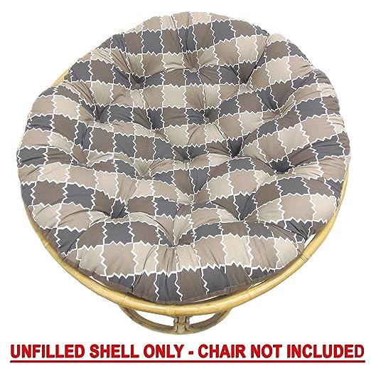 Algodón Craft - Papasan marroquí mosaico marrón Natural ...