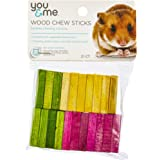You & Me Wood Chew Sticks for Small Animals, 30 g.