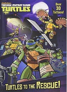 Amazon.com: Teenage Mutant Ninja Turtles Coloring Book Set (2 TMNT ...
