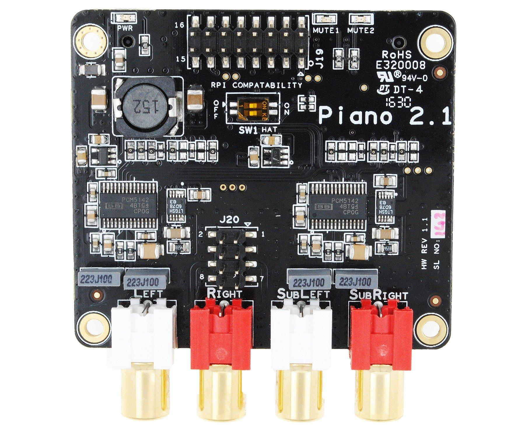 PIANO 2.1 HI-FI DAC by Allo