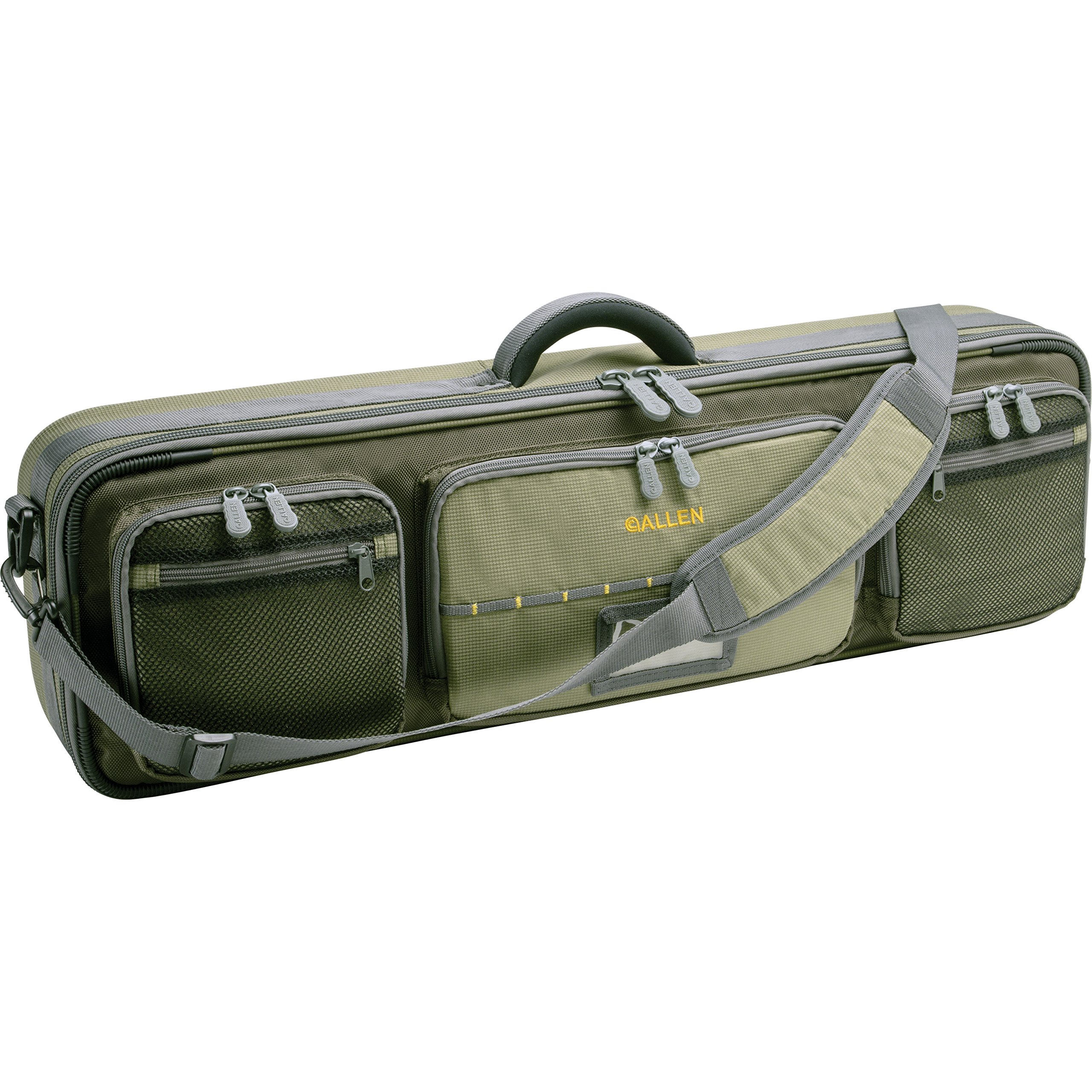 Allen Cottonwood Fishing Rod & Gear Bag, Hold up to 4 fishing rods