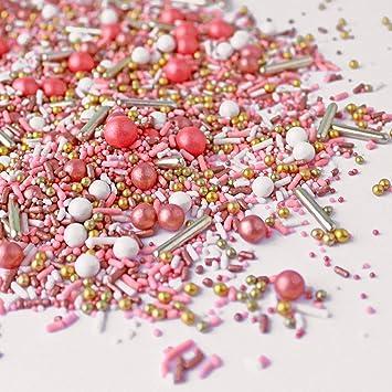 Vintage Rose Gold Sprinkle Mix, 8oz
