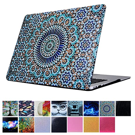 Amazon Com Macbook Pro 13 Case Papyhall Protective Cover Colorful