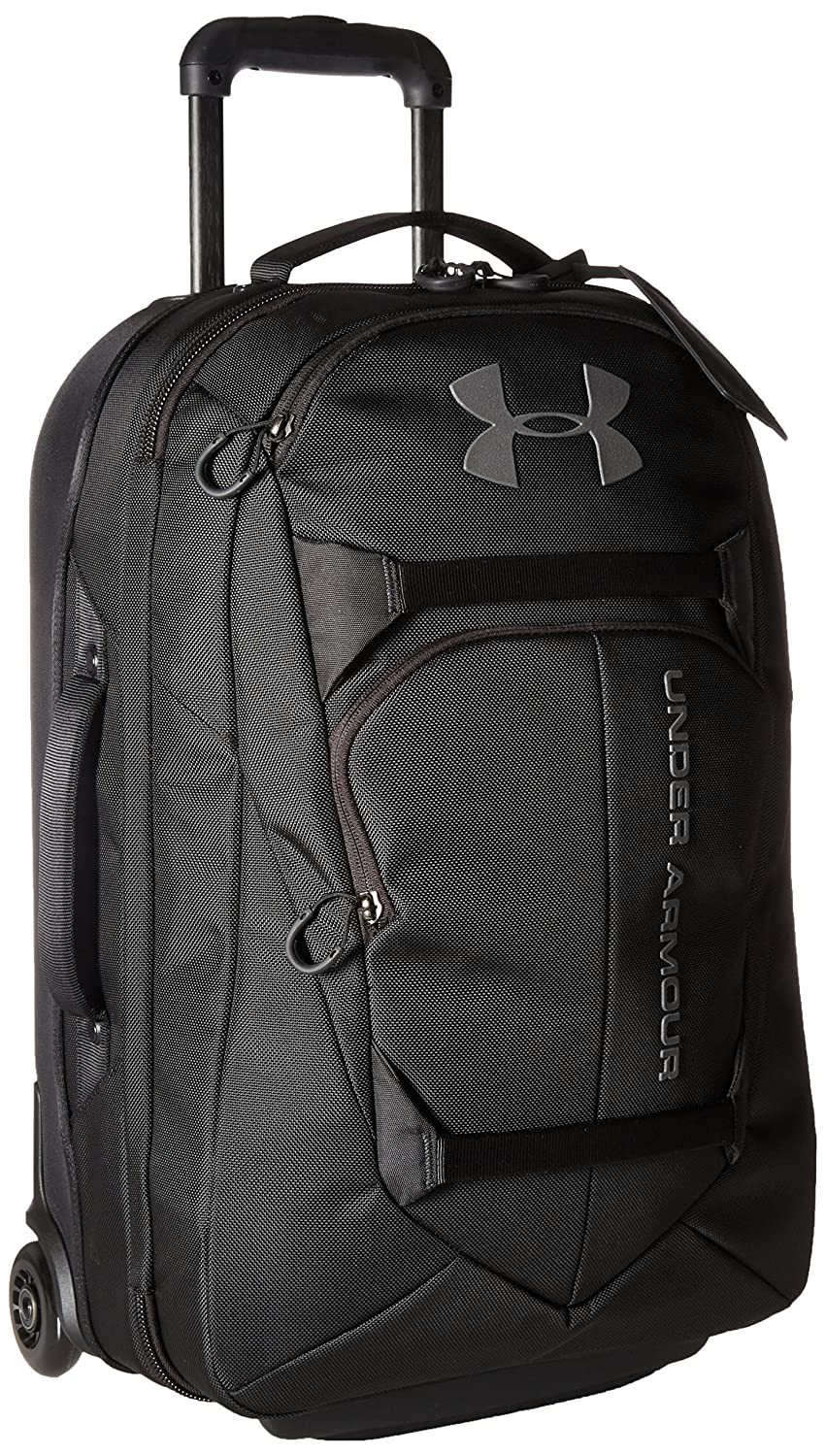 Under Armour Carry-On Rolling Travel Bag, Black (001)/Black, One Size Under Armour Bags 1287681