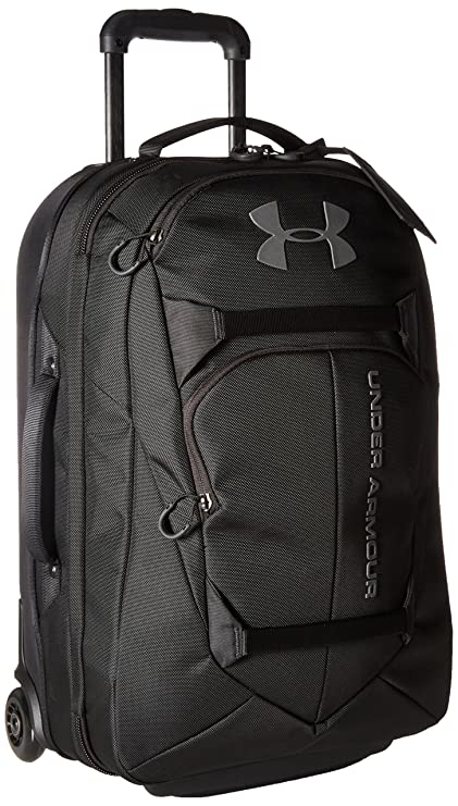 7a488d49c375 Amazon.com  Under Armour Carry-On Rolling Travel Bag