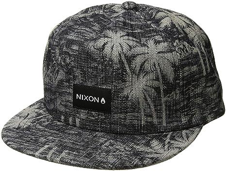 8208bd2b Amazon.com: NIXON Men's Tropics Snapback Hat Paradise/Black One Size ...