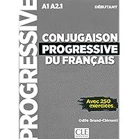 Conjugaison progressive du français - Niveau débutant (A1/A2) - Livre + CD + Livre-web - 2ème édition: Livre debutant…