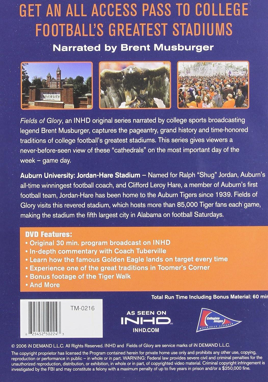 Amazon com: Fields of Glory: Auburn: Brent Musburger: Movies & TV