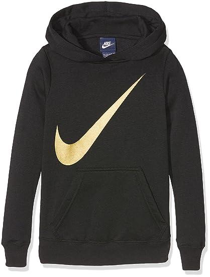 Nike G NSW HDY Oth Gx Sudadera, Niñas, Negro (Black), XL