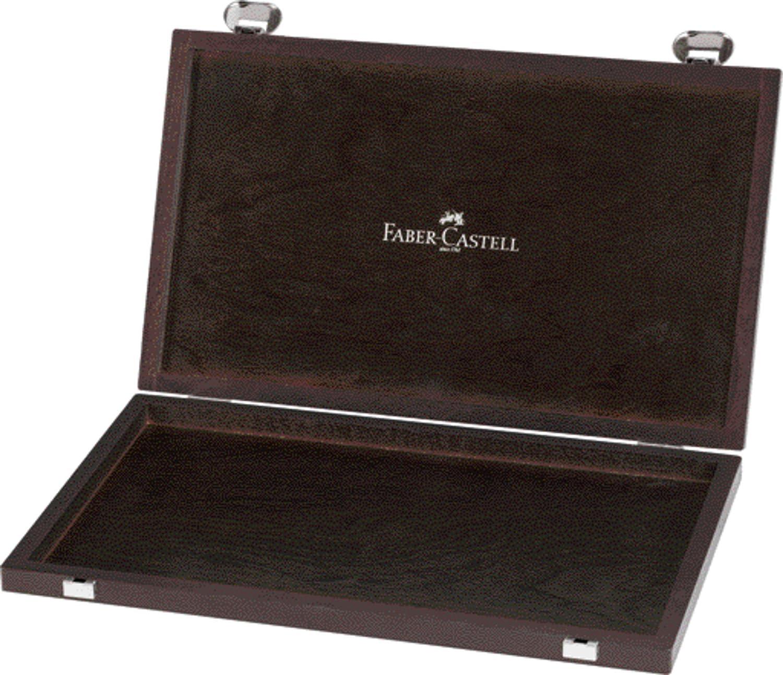 Faber-Castell 110087 - Caja de madera para lápices (vacía ...