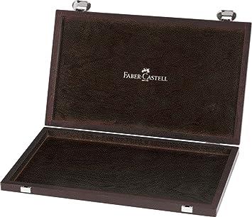 Faber-Castell 110087 - Caja de madera para lápices (vacía, capacidad para 36