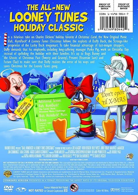 a looney tunes christmas charles visser joe alaskey daffy duck porky pig bob bergen bugs bunny billy west june foray tweety bird granny - Blue Christmas Porky Pig Video