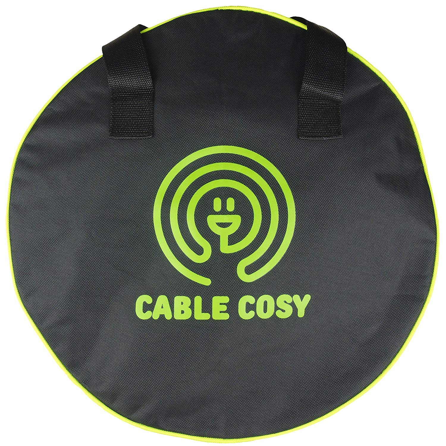 Quality Mains Cable Carry Bag. Perfect for Mains Cables For The Caravan, Tools, Jump Leads and Garden Equipment. 40 cm Diámetro. Strong Zip. Cable Cosy
