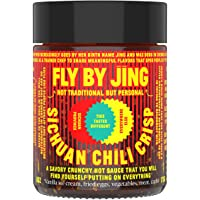 FLY BY JING Sichuan Chili Crisp, Deliciously Savory Umami Spicy Tingly Crispy Gourmet All Natural Vegan Gluten Free Hot…