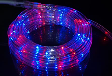 Amazon izzy creation 177ft bi color red and blue led izzy creation 177ft bi color red and blue led flexible rope light kit aloadofball Gallery