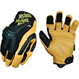 Mechanix Wear - CG Leather Heavy Duty Gloves (Large, Brown/Black)