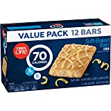 Fiber One 70 Calorie Soft-Baked Bar, Lemon Bar, 12 Fiber Bars, 10.6 oz (Value Pack)
