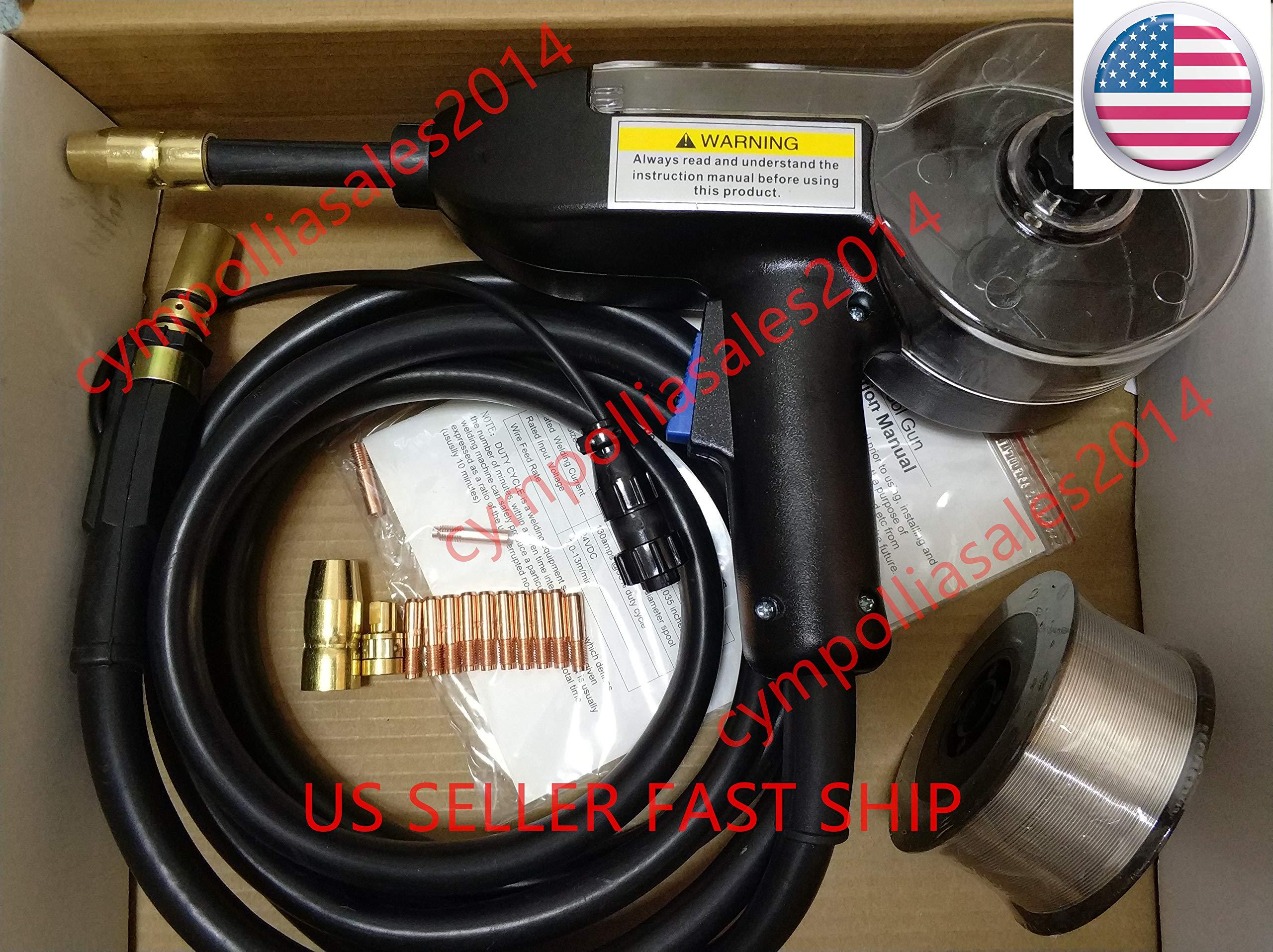 US SELLER 10' MIG Spool gun fit Millermatic 141/190/211 Multimatic 200/215 Renegade 180 Syncrowave 210 TIG Aluminum welding (ETA: 2-8 work days) by CYMPOLLIA2016