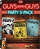 Guys Being Guys Party 3-Pack (Bachelor Party / Revenge of the Nerds / Porky's) [Blu-ray]